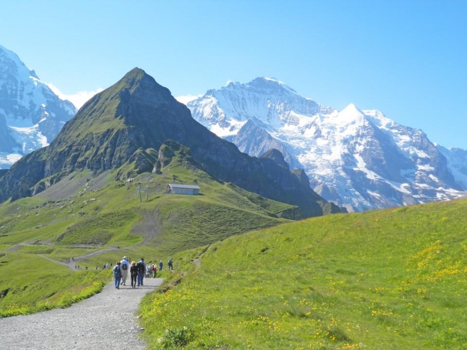 Wandelen in Zwitserland