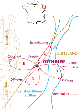 Routekaartje Osthouse