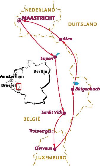 Routekaartje Vennbahn